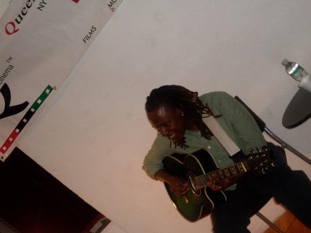 Saleema @ QBC Acoustic Soul Social Mixer