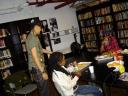 KIN4LIFE in the green room @ QBC Film & Music Festival '08