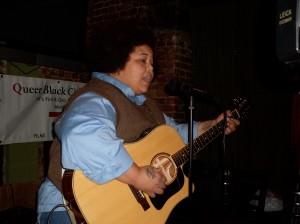Nedra Johnson A The Black Season, QBC's weekly L word series in NY