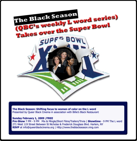 The Black Season Superbowl Style!