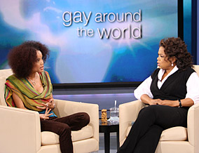 Staceyann Chin and Oprah Winfrey