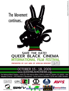 Queer Black Cinema International Film Festival 2009